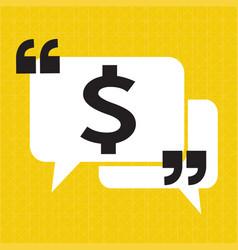 dollar sign money icon vector image