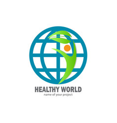 healthy life for good life vector image