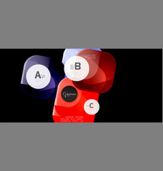 modern advertising concept for wallpaper design vector image