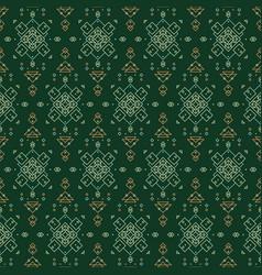 Tender forester seamlesss pattern vector