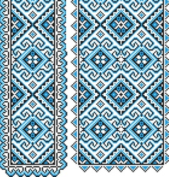 Ukrainian national ornament vector image