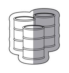 gasoline tanks icon stock vector image