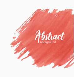 Abstract hand painted watercolor background with vector