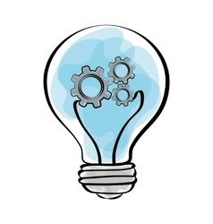 Big idea design Creative icon draw vector
