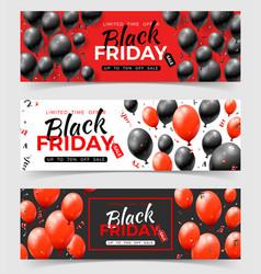 bundle black friday sale banners vector image
