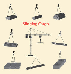 circuitry slinging cargo vector image