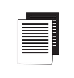 document pages design concept vector image