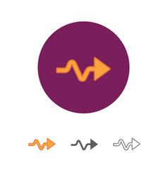 Modern universal arrow vector