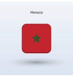 Morocco flag icon vector