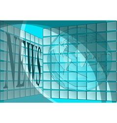 newsroom vector image