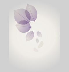 rosebush leaves-03 vector image