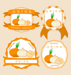 The theme onion vector