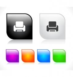 Web site menus vector
