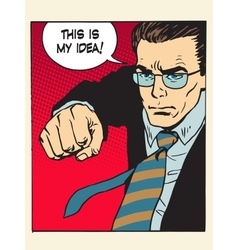 copyright fight fist kick my idea creative process vector image