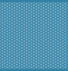 abstract isometric grid seamless pattern vector image