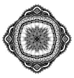 Mandala for coloring book vector