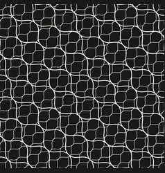Seamless pattern diagonal wavy lines grid mesh vector