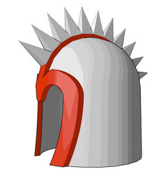 The helmet armor object or color vector