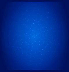 blue deep sea background with sparkles and vector image vector image