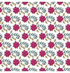 Hand drawn seamless vintage pattern vector image