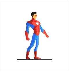 Superhero Ironman vector image vector image