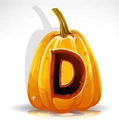 Halloween Pumpkin D vector