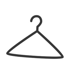 hanger icon isolated design vector image