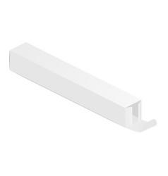 Long rectangular box vector