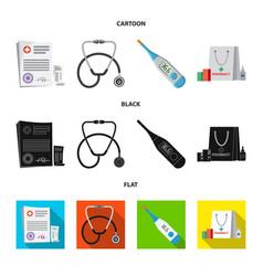pharmacy and hospital logo vector image