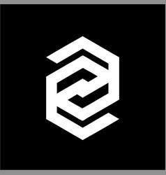 Simple z ezg cg eg gg gsg csg initials company vector