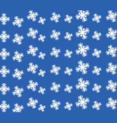 snow pattern vector image