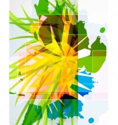 urban abstract print vector image