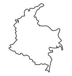 lar002-282 paises acuarelas vector image