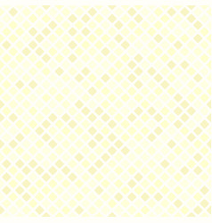 Yellow rounded diamond pattern seamless vector