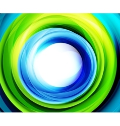 Bright swirl motion abstract background vector image