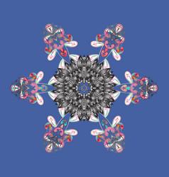 Christmas festive background christmas snowflake vector