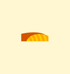 flat icon agriculture element vector image