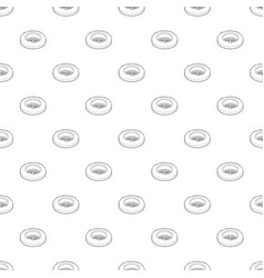 golf hole pattern seamless vector image