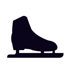 ice skates icon vector image