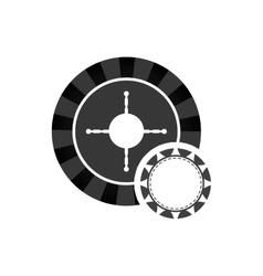 Roulette casino vegas vector