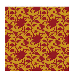 rustic batik vector image