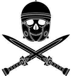 skull warrior third variant vector image