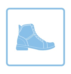 Woman boot icon vector image
