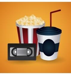 Cinema design Movie icon Colorful vector image