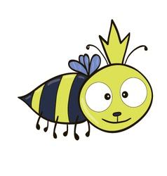 Queen bee vector image vector image