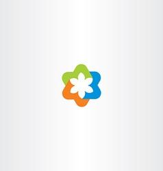 Tech logo icon symbol abstract business sign vector