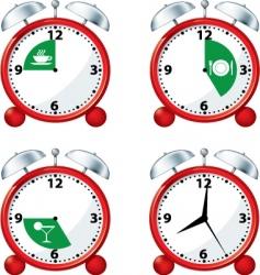 happy hour vector image vector image