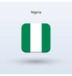 Nigeria flag icon vector