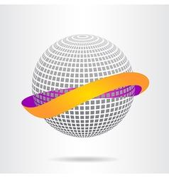 Abstract logo vector image