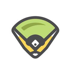 baseball field playground base icon cartoon vector image